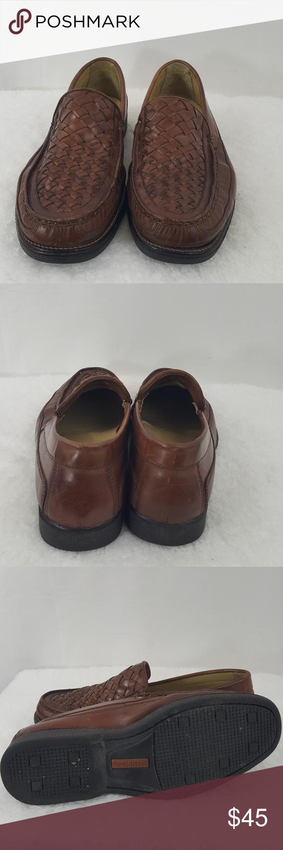 a6229868d97 Florsheim Mens Loafer Size 11 D Brown Woven Top •Great Condition Shoes Size  11 D