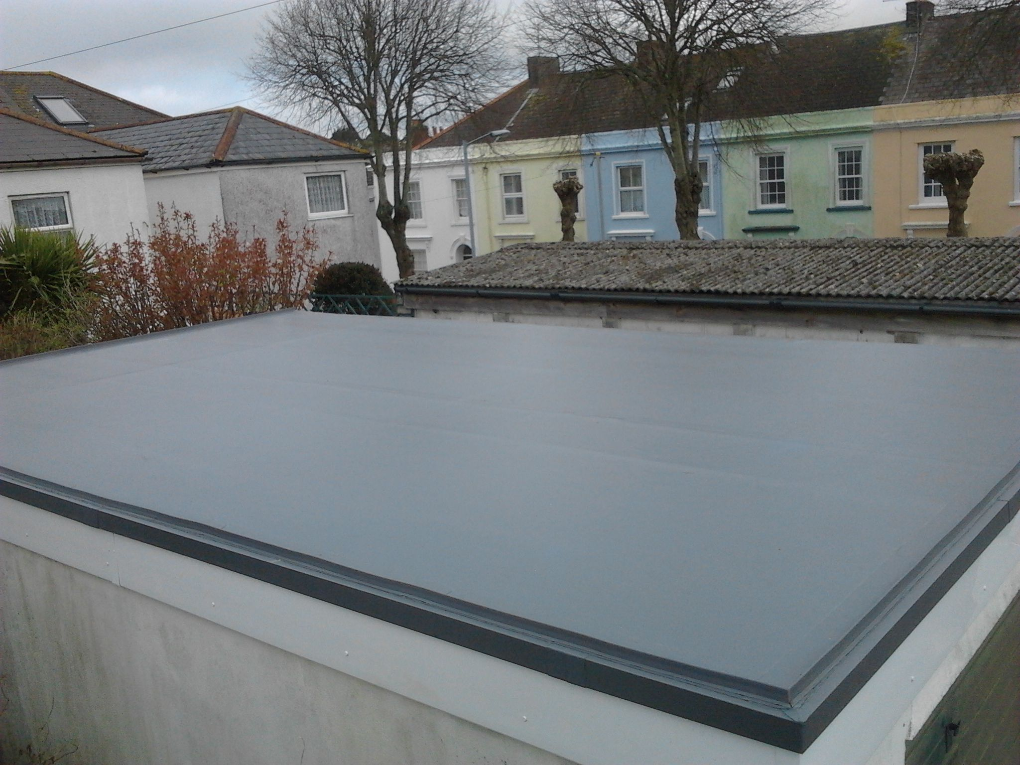 Single Ply Roofing Cornwall Pellow Flat Roofing Ltd Flat Roof Roofing Single Ply Roofing