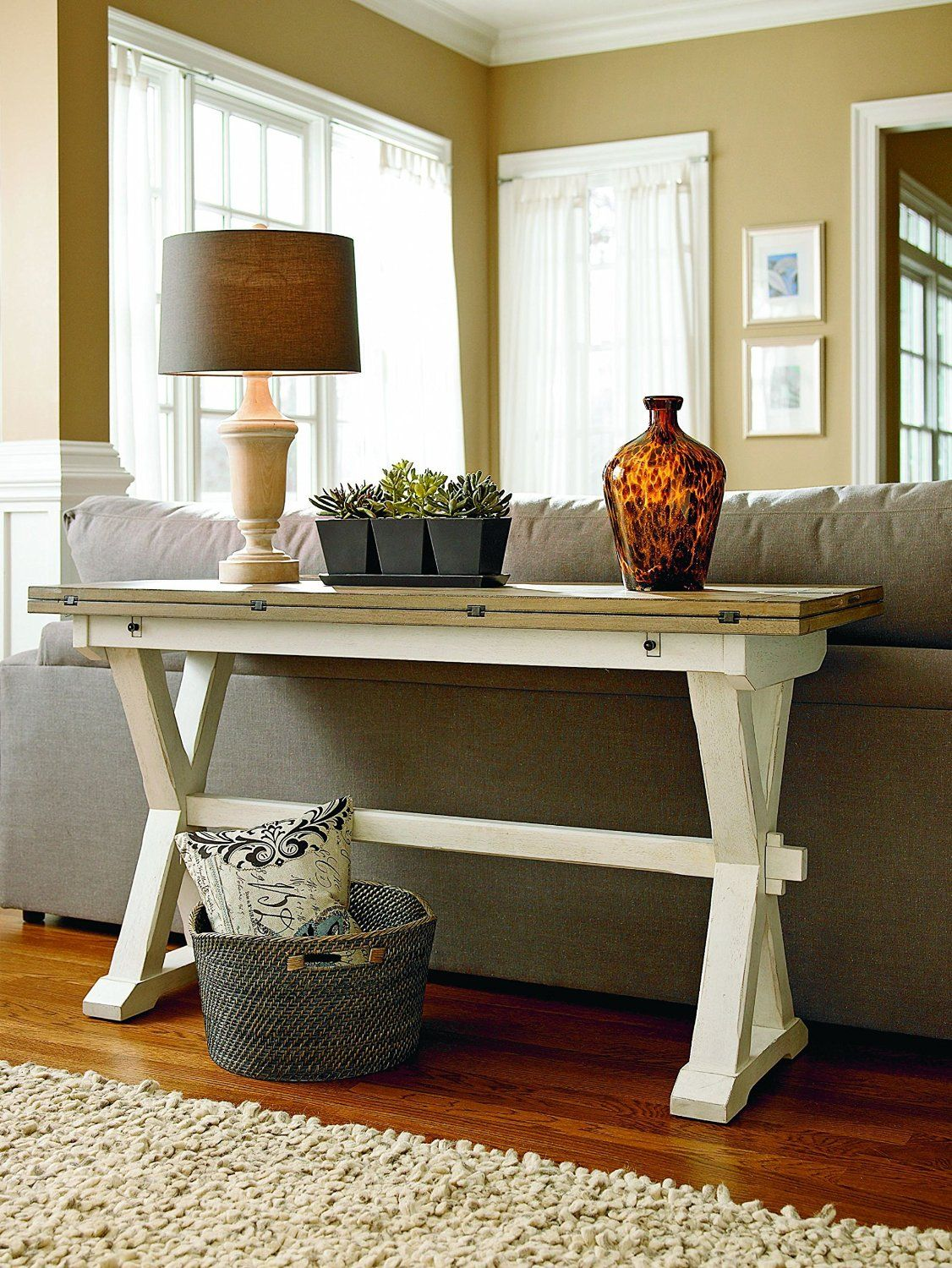 If You Already Have A Dining Table You Can Make Use Of A Flip Top Console Table As An Additional Dining Table If You Tend Universal Furniture Furniture Decor