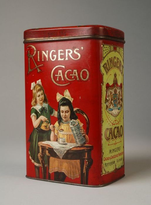 Ringers cacao - Rotterdam. I want this tin.