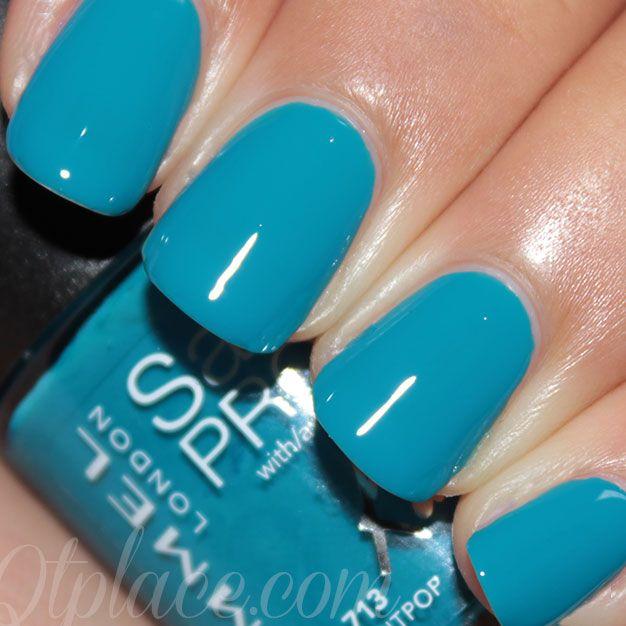 Rimmel London Salon Pro nail polish 312 Ultra Violet | Nail polish ...