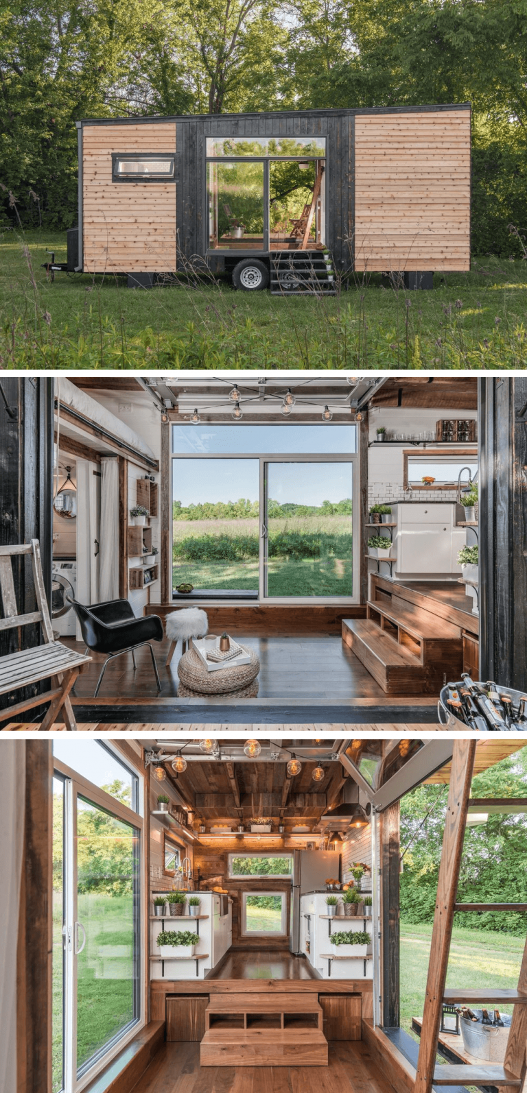 18 Tiny Houses on Wheels Design Ideas to Clone #tinyhomes