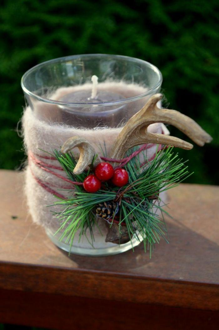 kerzenhalter glas weihnachtlich schm cken geschenkidee. Black Bedroom Furniture Sets. Home Design Ideas
