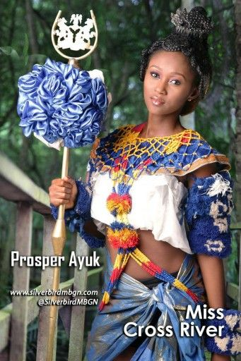 She is dressed like an Efik lady from south south Nigeria