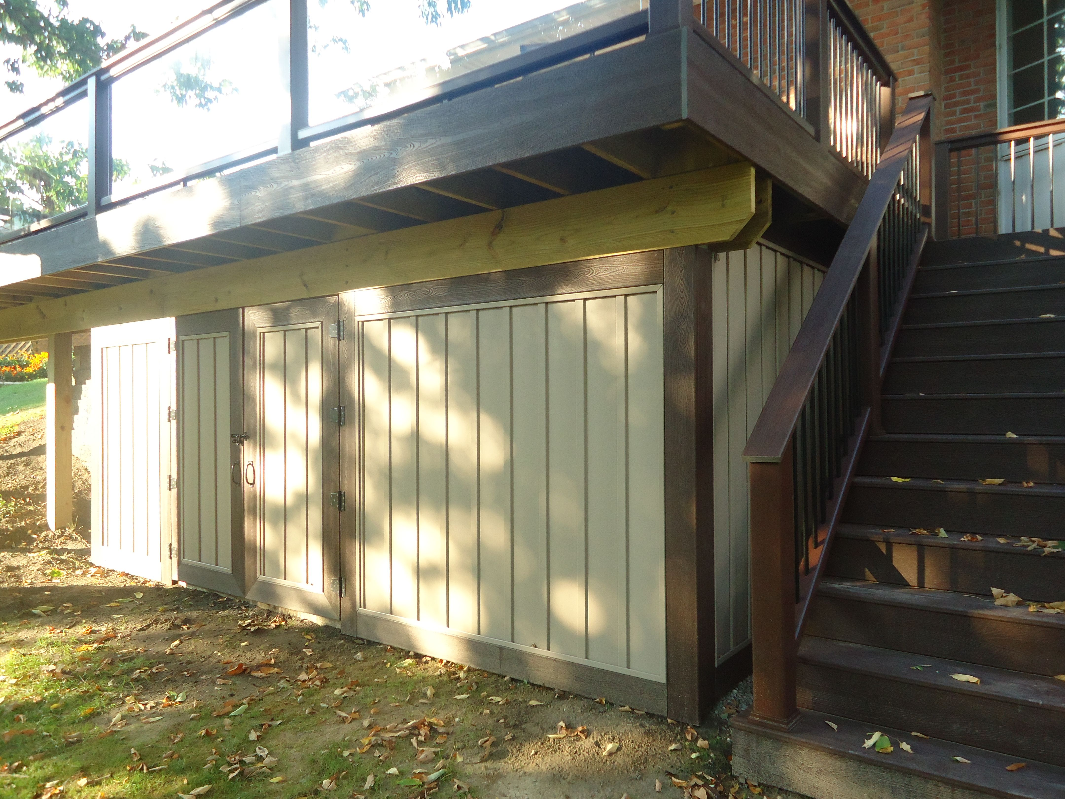 Deck Into A Great Storage