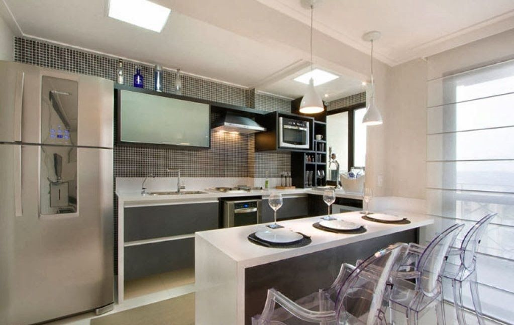 Muebles de cocina con desayunador los muebles de cocina for Cocinas con desayunador