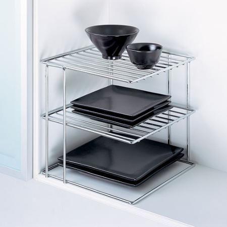kitchen metal wire chrome corner shelf walmart com stuff to buy