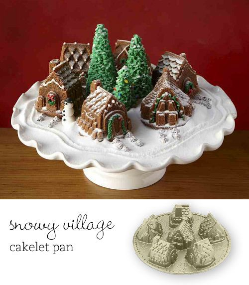 The Cutest Holiday Cake Pans Have A Holly Jolly
