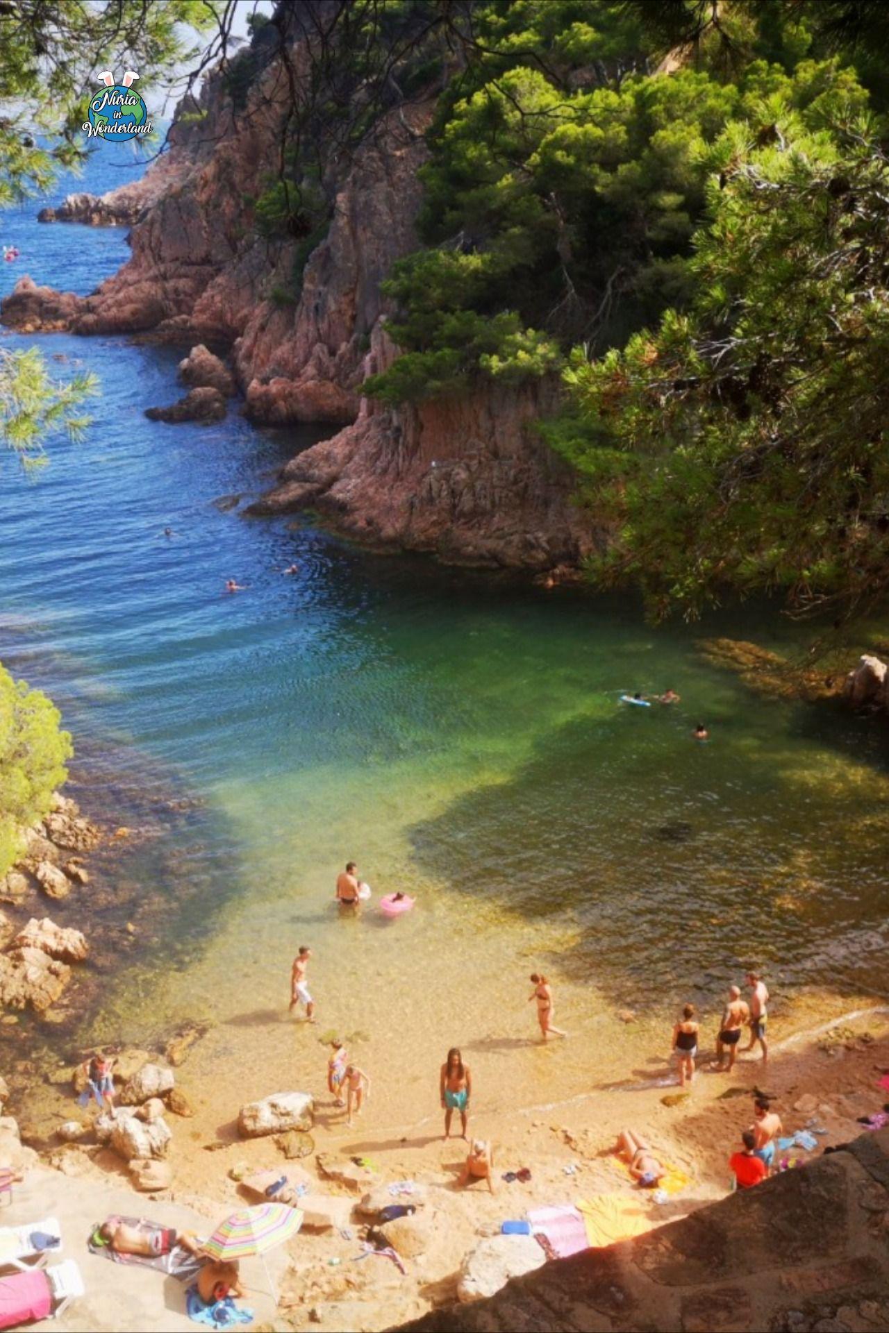 Cala Xelida Girona Playa Estética Playa Naturaleza Estética