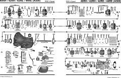 transmission parts diagram for 44re dodge dakota google search Dodge 44RE Transmission Pan