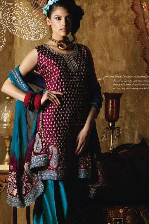 Beautiful salwar kameez.