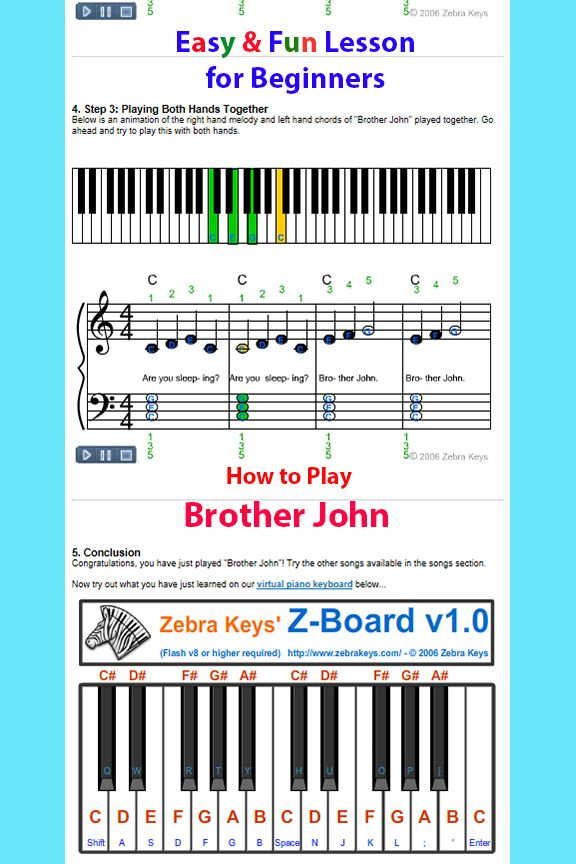 A Fun Way To Teach Your Child How To Play This Easy Song A Free