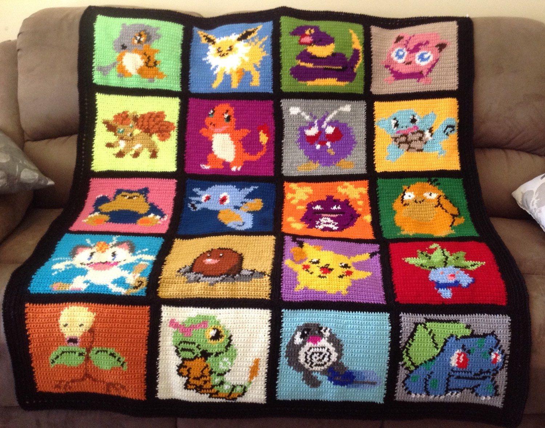 30 Free Crochet Pokémon Patterns | Guide Patterns | 1177x1500