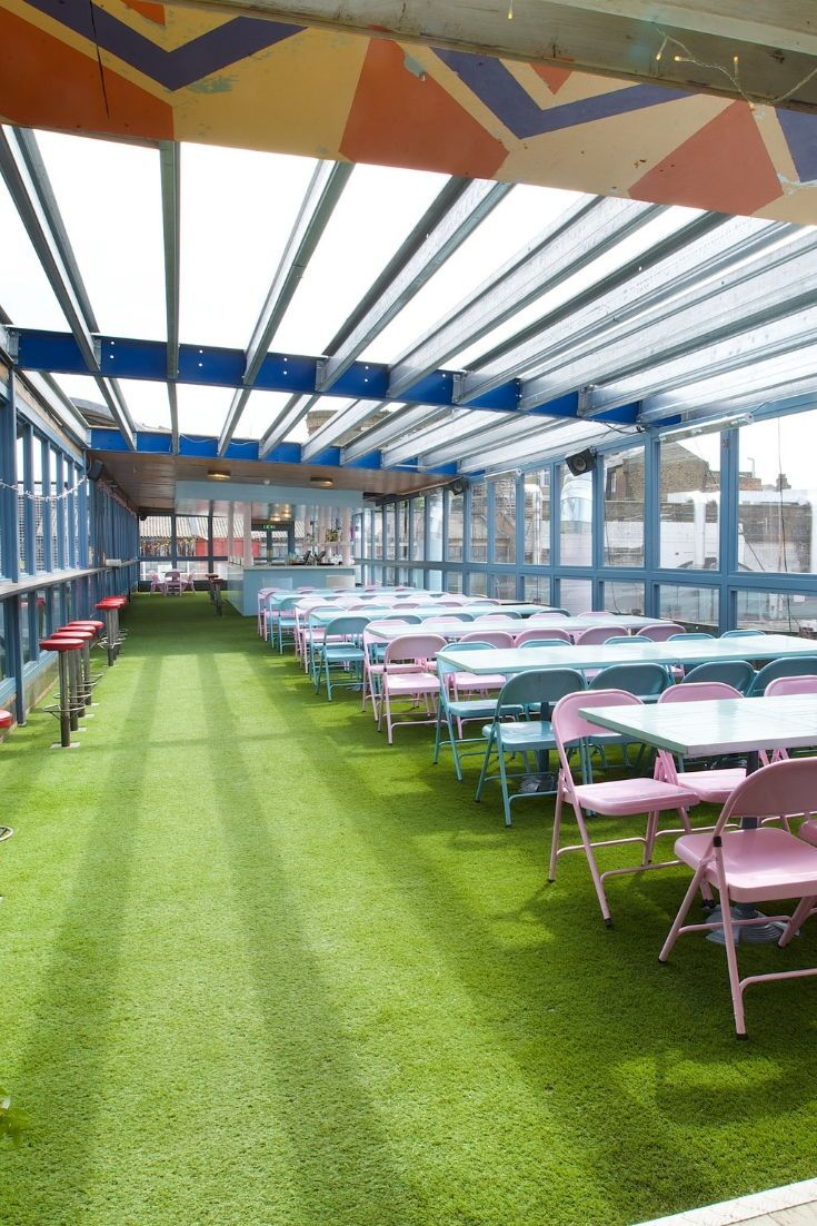 Dinerama Shoreditch: Dinerama Pavilion Bar. Free Venue Finding By (With Images