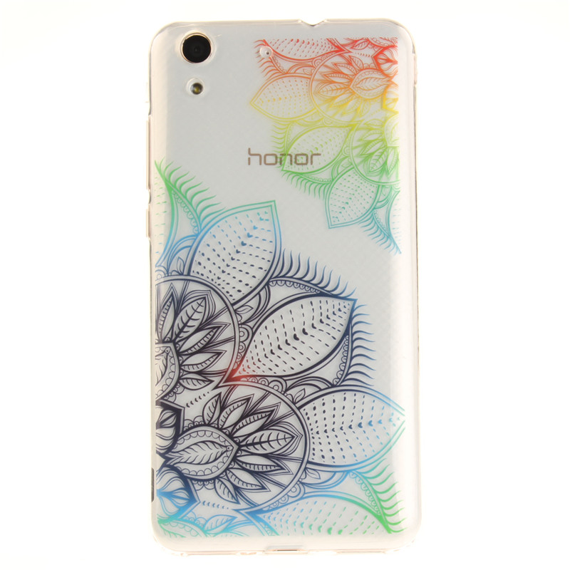 Fundas Huawei Y6II Y6 II 2 Case Cover Transparent 3D Luxury Case ...