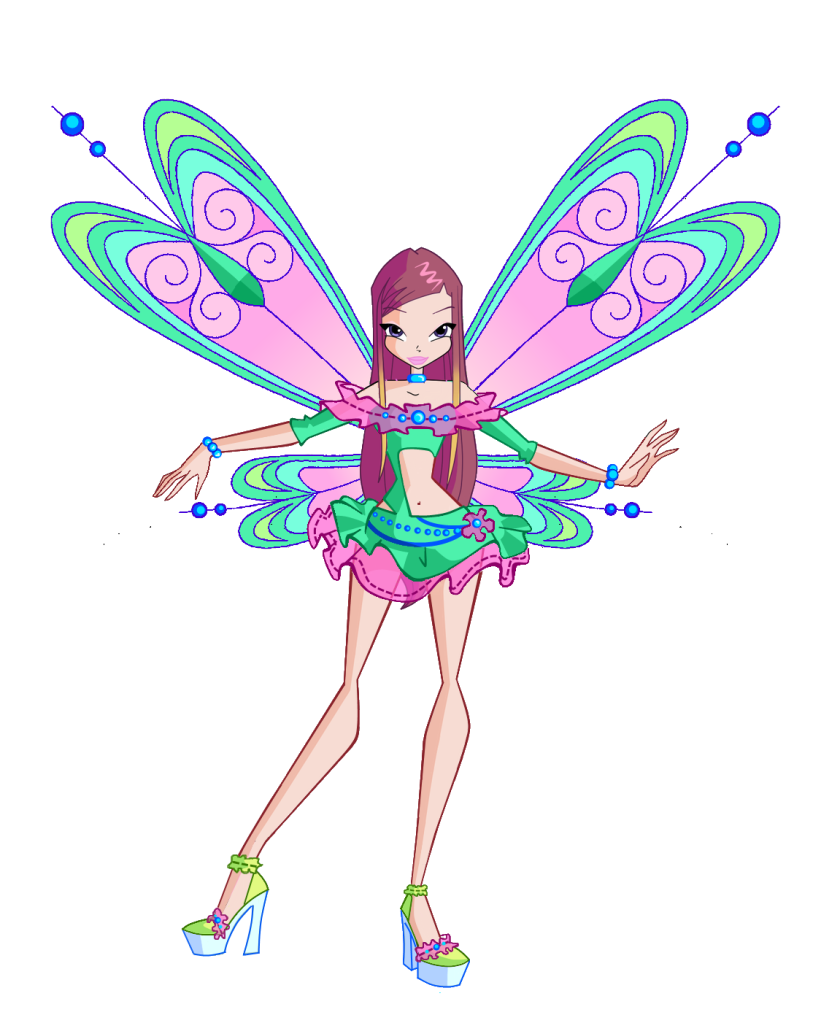 Winx Club Roxy Pixie | Size of this preview: 394 × 480 pixels . Other resolutions: 197 ...