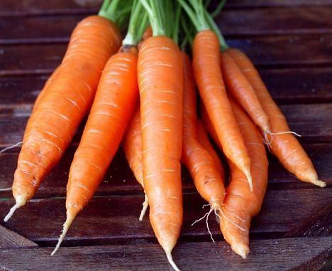 Karkit kannattaa korvata porkkanoilla.