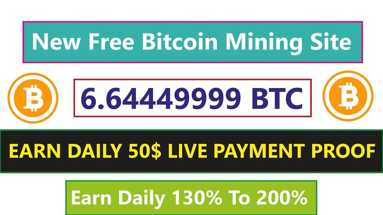 Earn Free Bitcoin | New Free Bitcoin Mining Site | Earn