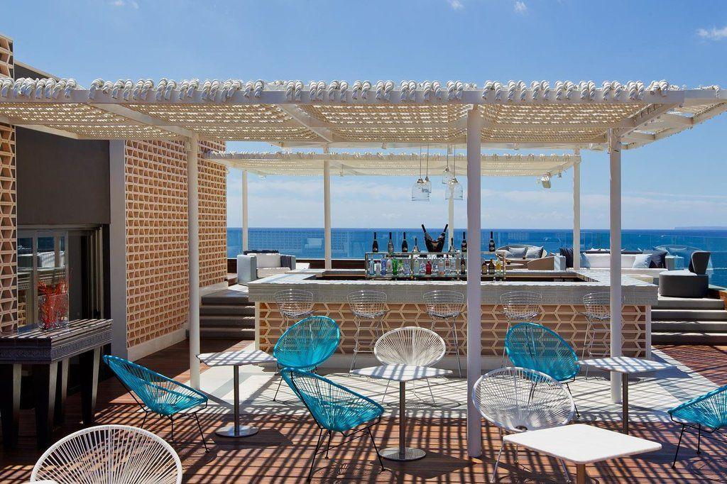 Aguas De Ibiza Hotel Ibiza Modern Hotel Lobby Hotel Decor