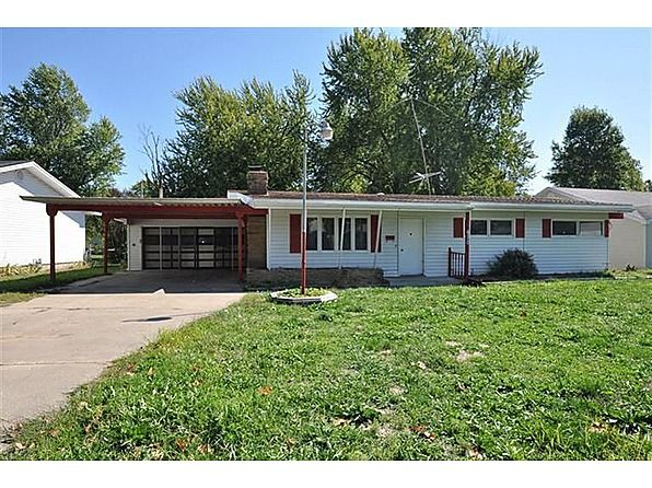 So much square footage for the money! Priced less than $27 per square foot!! This 5 bedroom, 2 bath home, new paint and carpet, fireplace, nice and open, with an enclosed sun room, sewing /craft room, large deck, fenced back yard and storage shed. Garage is large enough for oversized car, with a 2 car carport. #zillow