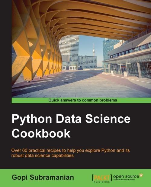 Python Data Science Cookbook | Python programming | Data science