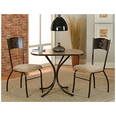 3 Piece Coffee Cup Bistro Set At Big Lots This Is My New Dining Room Table Soo Cute