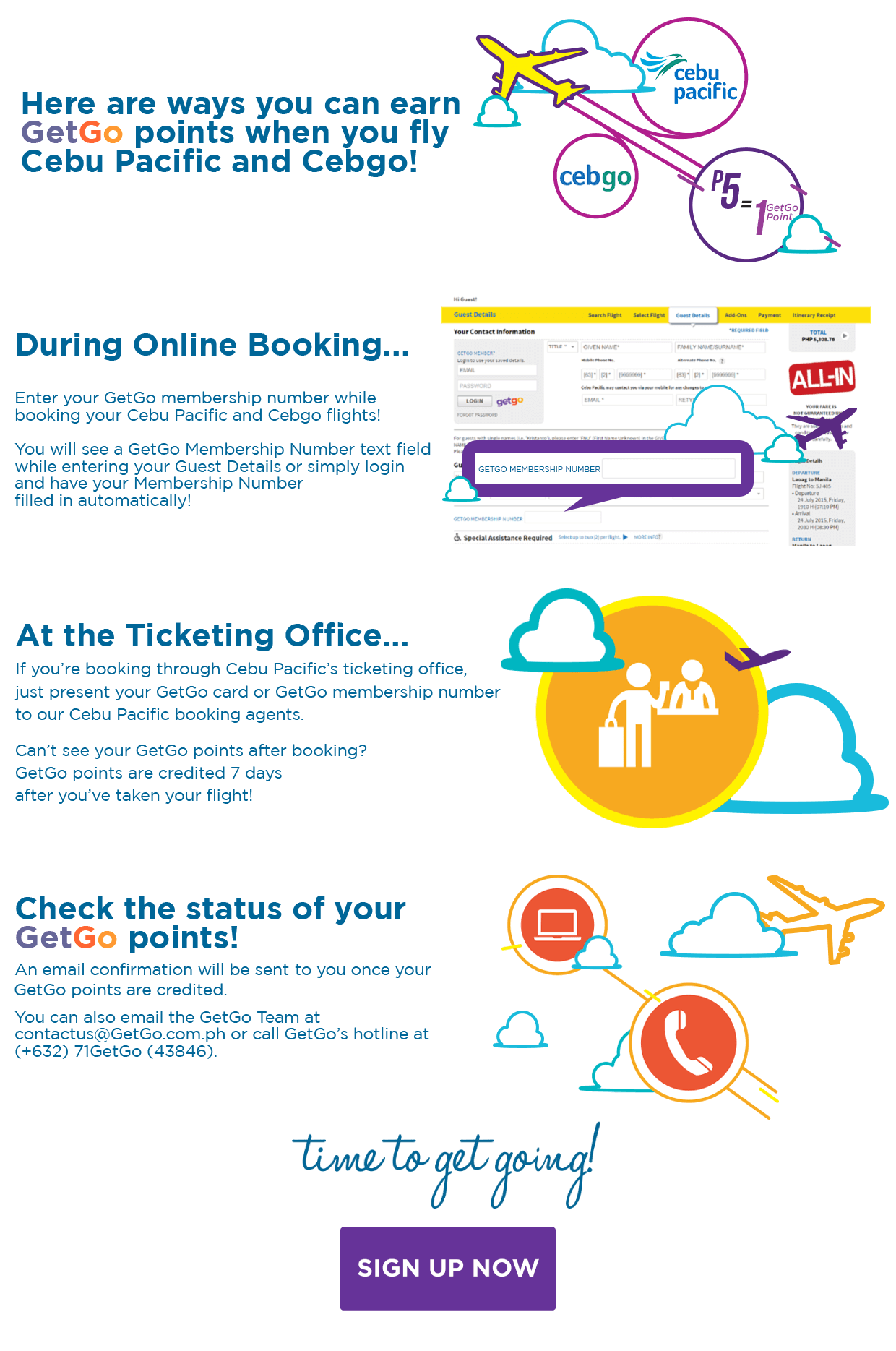 how to rebook a ticket from cebu pacific