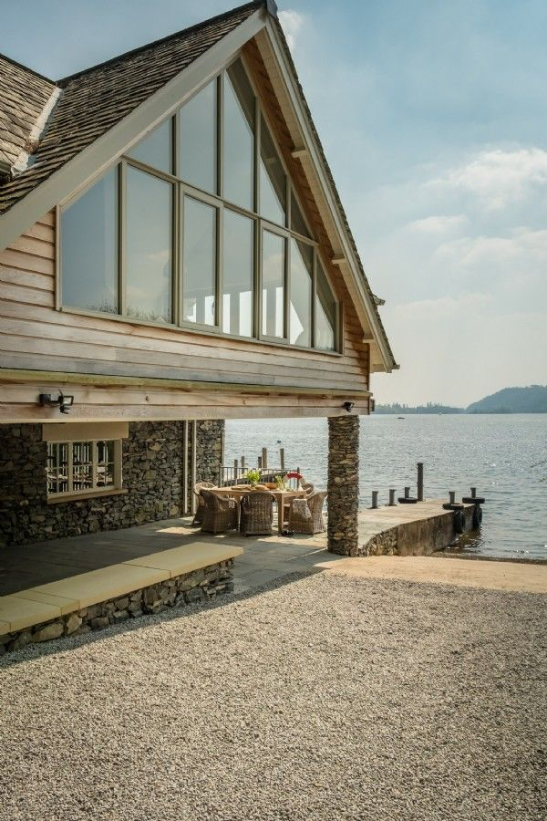 Fantastic Lake Windermere Luxury Self Catering Boathouse With Private Download Free Architecture Designs Crovemadebymaigaardcom