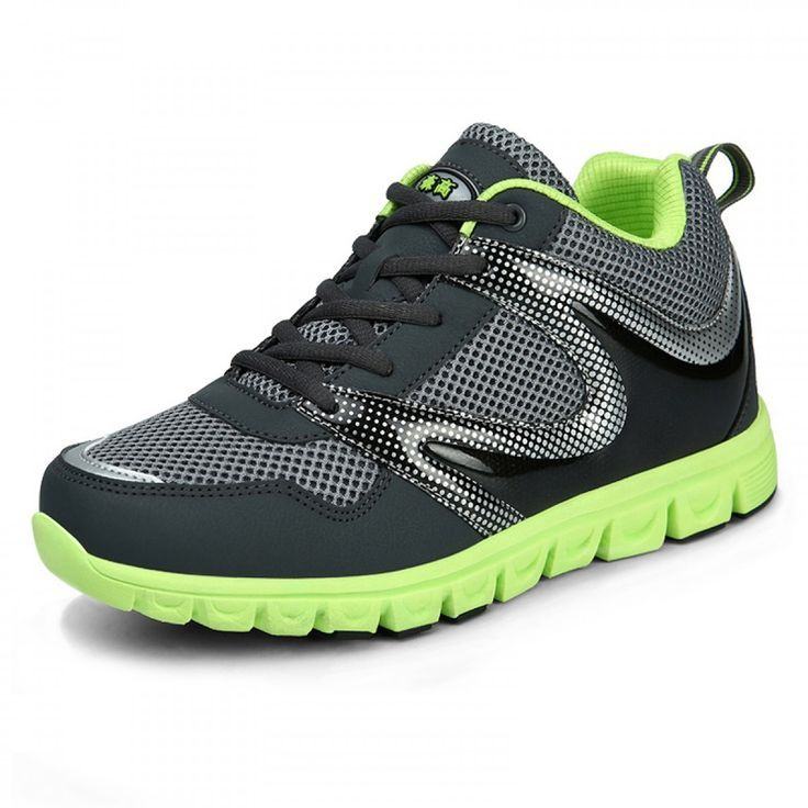 I LOVE CACTUS Man Sports Running Shoe Breathable Sneakers