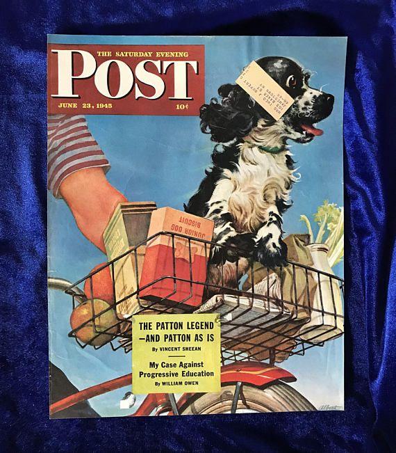 Vintage 80s Spaniel Plush Dog Lover Gift Floppy Ear Dog Stuffed Puppy Cockerspaniel Gift Collectible Dog Spaniel Gift Brown Spaniel