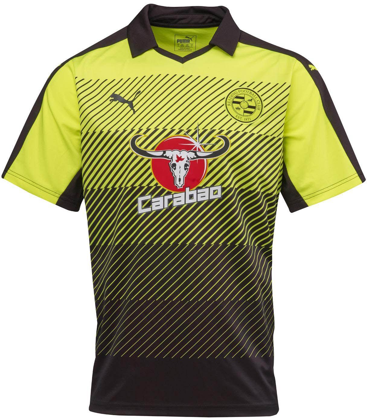Puma divulga as novas camisas do Reading