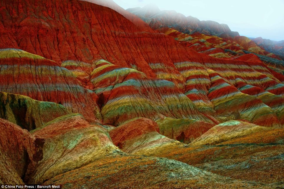 The landform is a unique type of petrographic geomorphology which is found only in China