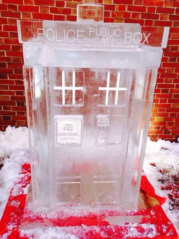 doctor who tardis in ice