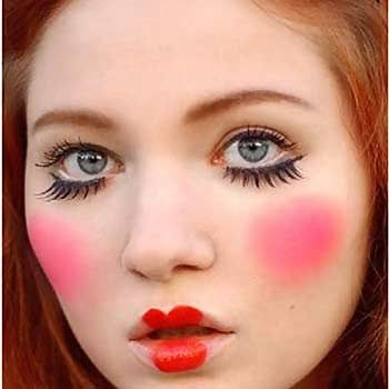 Doll Face Makeup Tutorial Step By Step Picture Guide Party