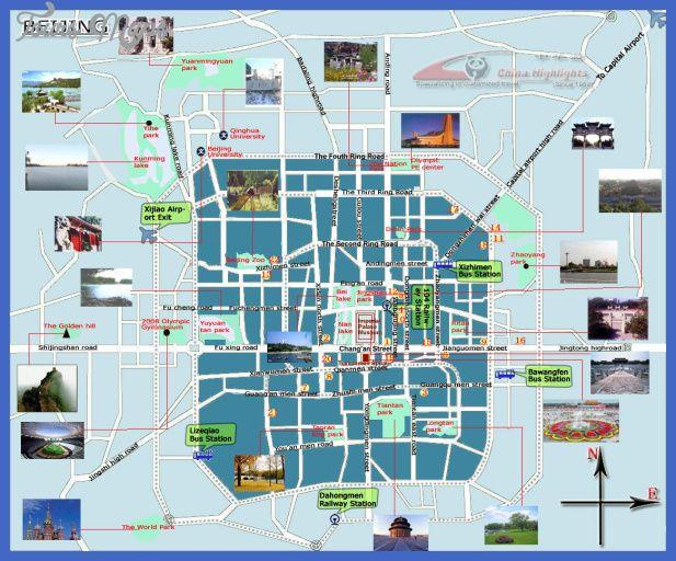 Boise City Map Tourist Attractions Beijing Tourist Map Beijing City Map Beijing Map