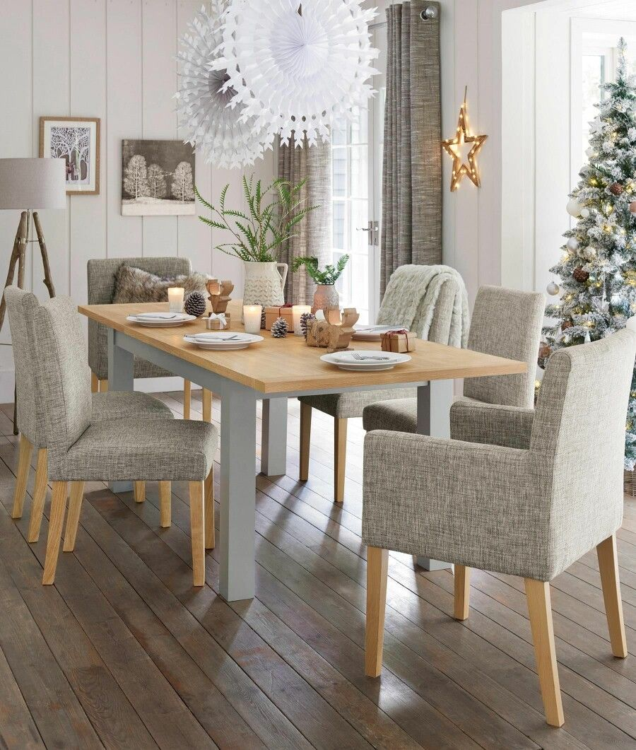 Malvern Table And Mods Chairs From Next Rectangle Dining Table
