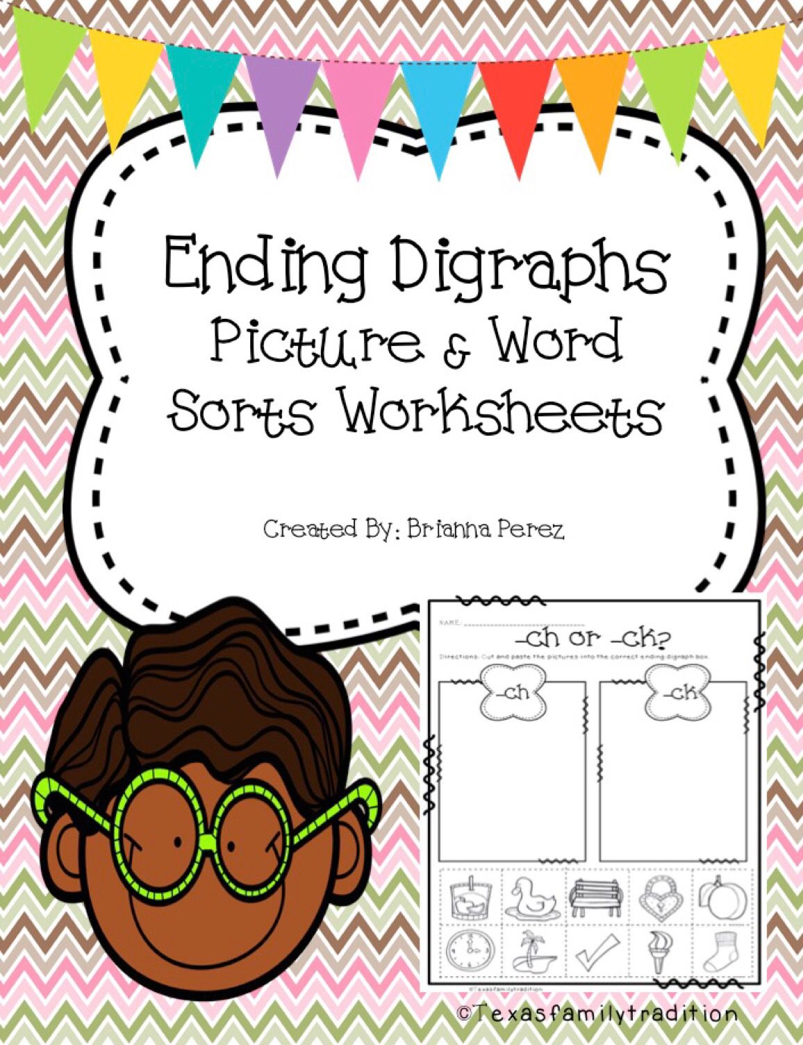 Ending Digraphs Worksheet Sorts With Images