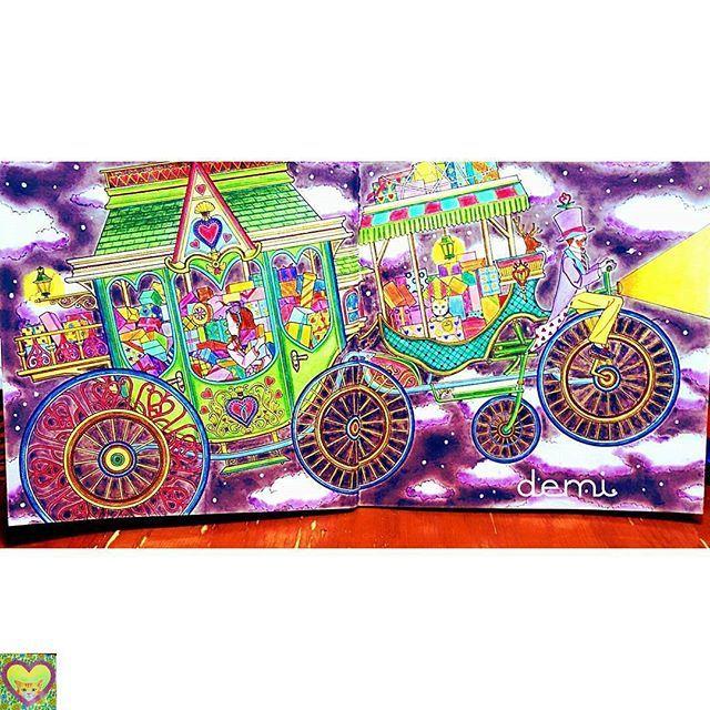 Instagram media bayan_boyan - @Regrann from @demi_m._.m -  #塗り絵#大人の塗り絵 #コロリアージュ#著色畫 #著色本 #coloring.masterpieces #coloringbookph #coloring #coloringbook #coloringforadults #coloringbookforadults #adultcolouring #adultcoloringbook #adultcoloring #bayan_boyan #livrocoloriramo #book#szinező #dariasong #Regrann