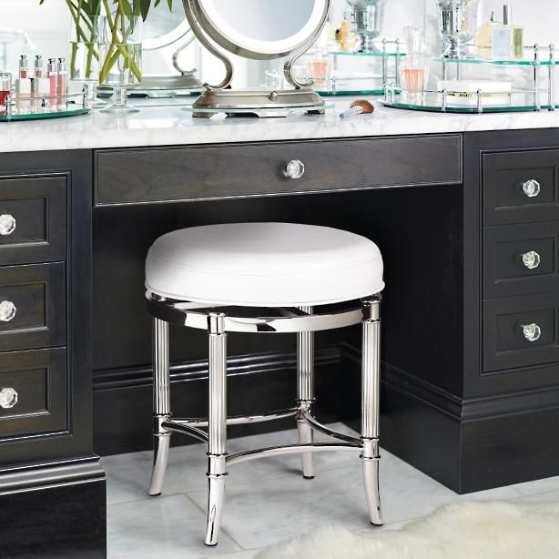 Bailey Swivel Vanity Stool Vanity Stool Stool