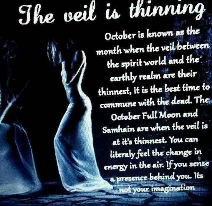 Samhain ~ The veil is thinning