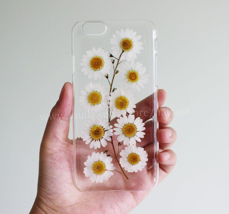 iphone 6 pressed flower case
