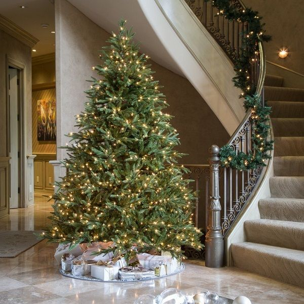 15 Best Fake Christmas Trees 2020 That Look Real Pre Lit Christmas Tree Fake Christmas Trees Artificial Christmas Tree