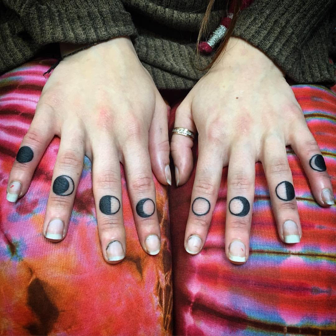 Fun little finger banger from today tattoo artists