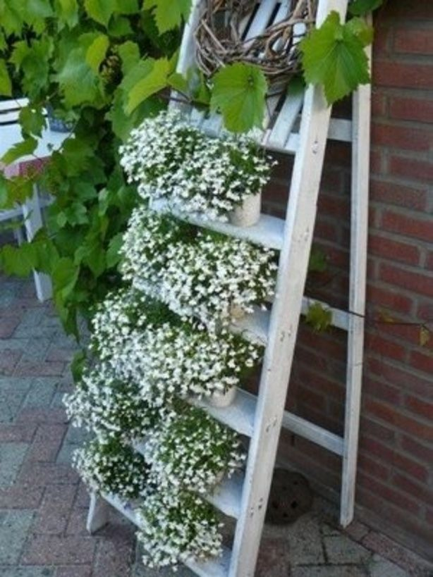 Eindelijk een goed idee voor mijn oude houten trap for Houten trap voor buiten