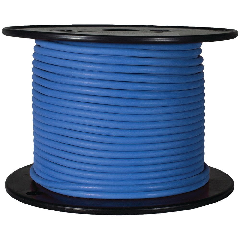 Battery Doctor Gxl Crosslink Wire 100ft Spool 16 Gauge Blue Black Cable 100 Ft Wiring Products