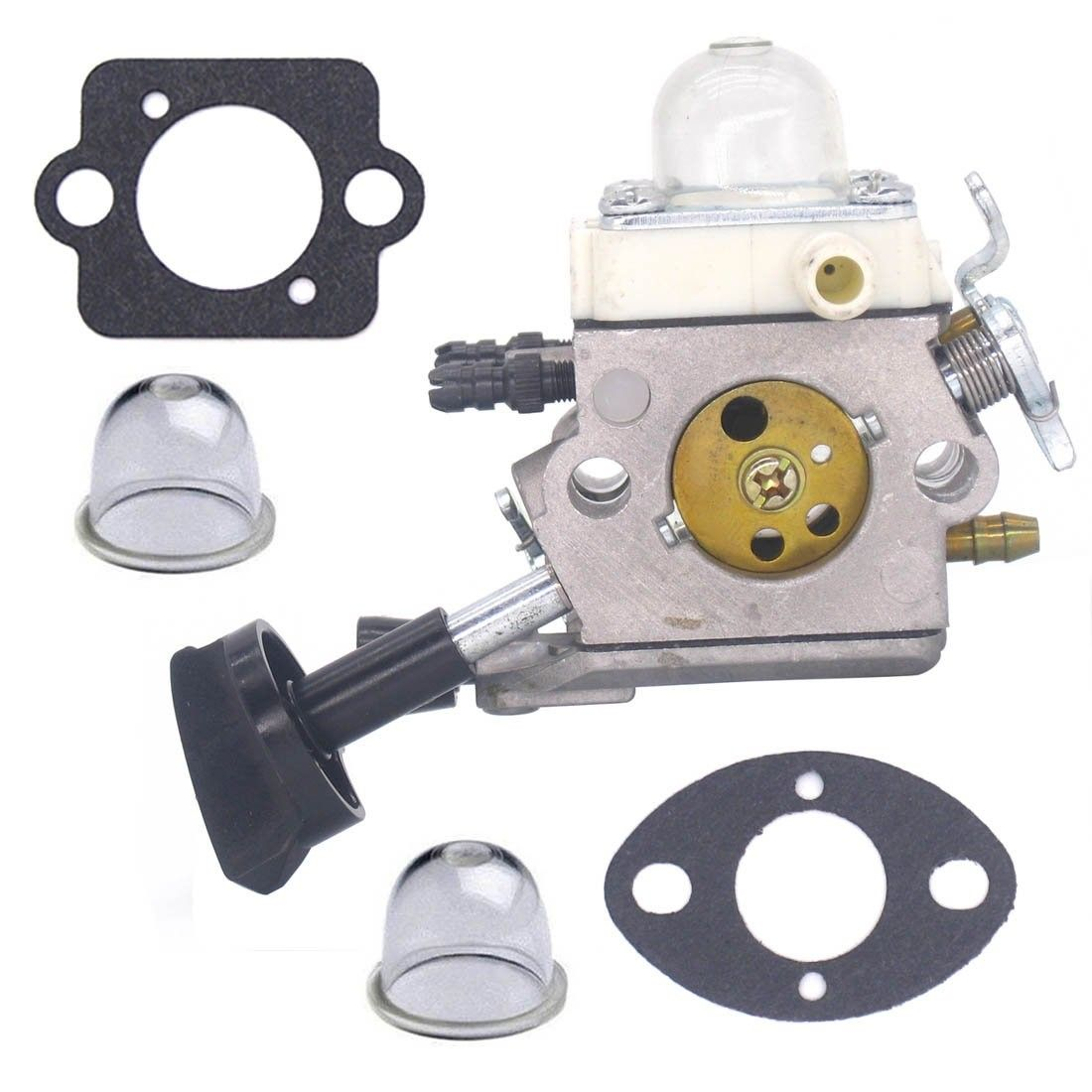 HIPA C1Q-S68 Carburetor with Gasket Spark Plug Fuel Filter Primer Bulb for STIHL BG45 BG46 BG55 BG65 BG85 SH55 SH85 4229 120 0606
