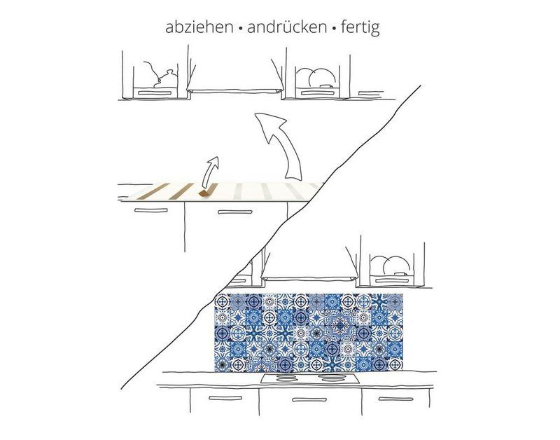 Küchenrückwände »canadastock: Panorama idyllische Sommer Landschaft«