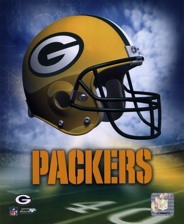d14909da663 Green Bay Packers Helmet Logo