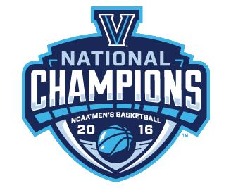 2016 National Champions Sports Logo Design Villanova National Champions