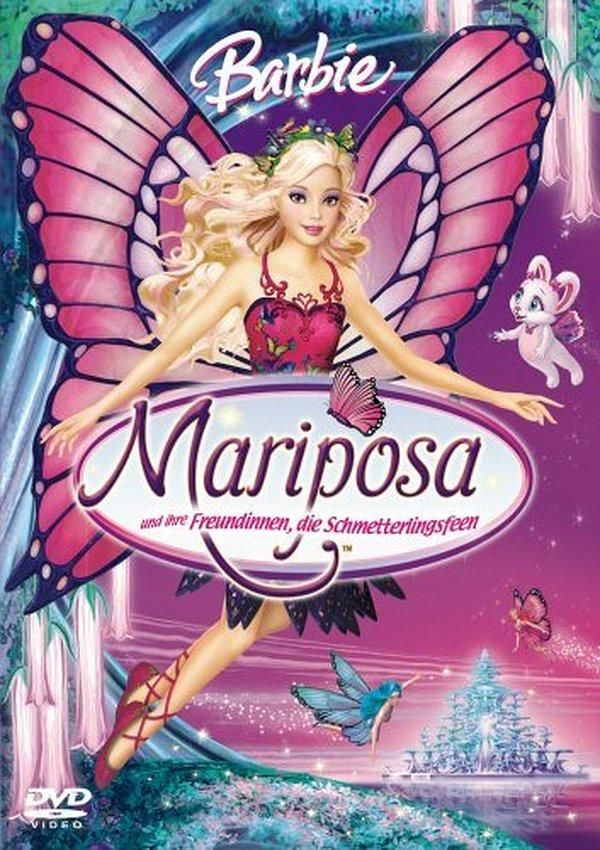 Barbie Mariposa And Her Butterfly Fairy Friends Video 2008 Barbie Fairytopia Barbie Barbie Filme